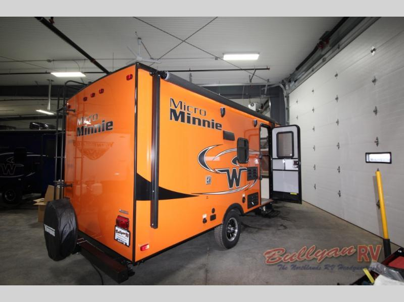 2018 Winnebago Industries Towables Micro Minnie 1700BH