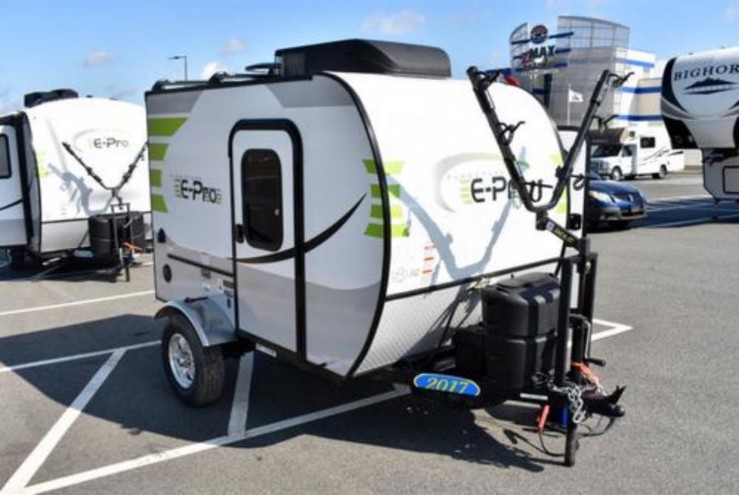 2018 Forest River FLAGSTAFF E-PRO 12RK