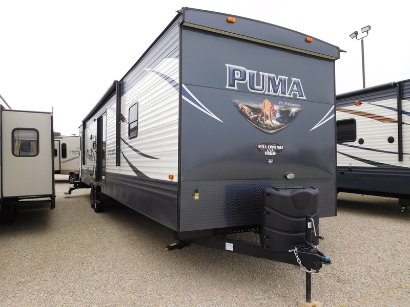 2017 Palomino Puma Destination Trailers 38PTB