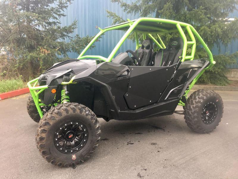 2015 Can-Am Maverick X ds 1000R Turbo Carbon Black & Manta Green