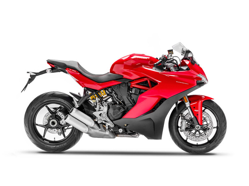 2017 Ducati SuperSport Red