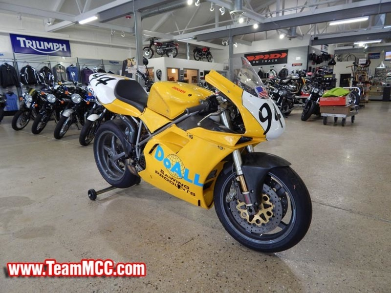 2000 Ducati 748 Track Day special