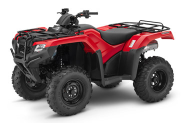 2017 Honda FourTrax Rancher 4x4 DCT IRS