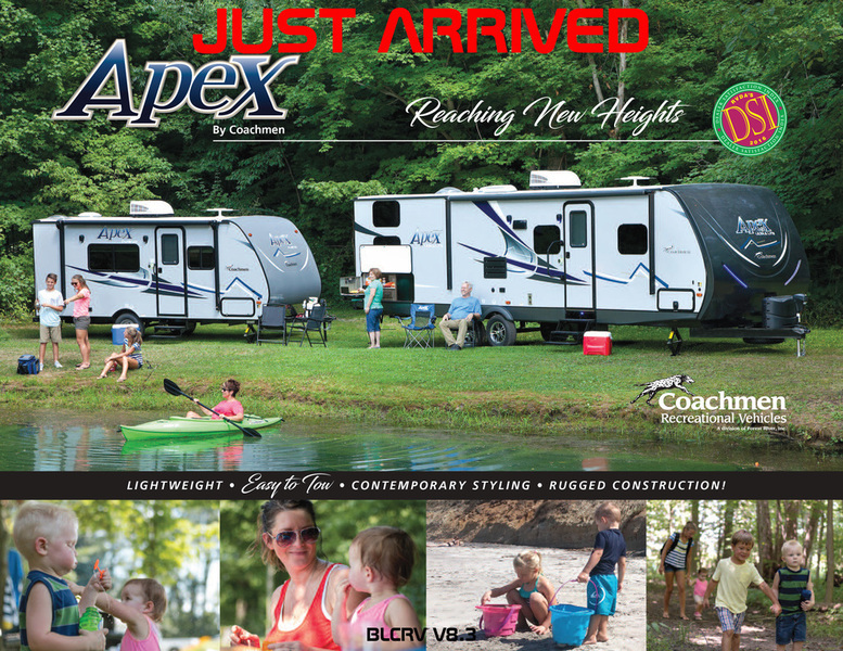 2018 Forest River COACHMEN APEX NANO 187RB