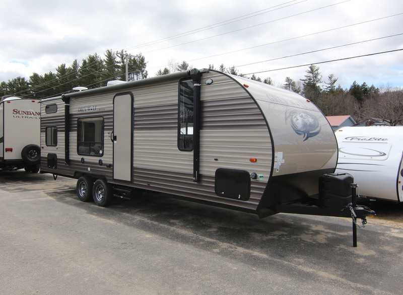 2017 Forest River Cherokee Grey Wolf 26DJSE