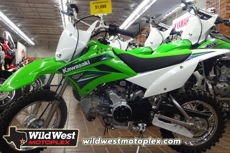 2014 Kawasaki KLX 110
