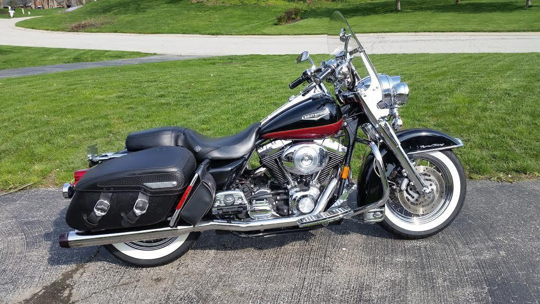 harley davidson road king classic motorcycles for sale in indiana. Black Bedroom Furniture Sets. Home Design Ideas
