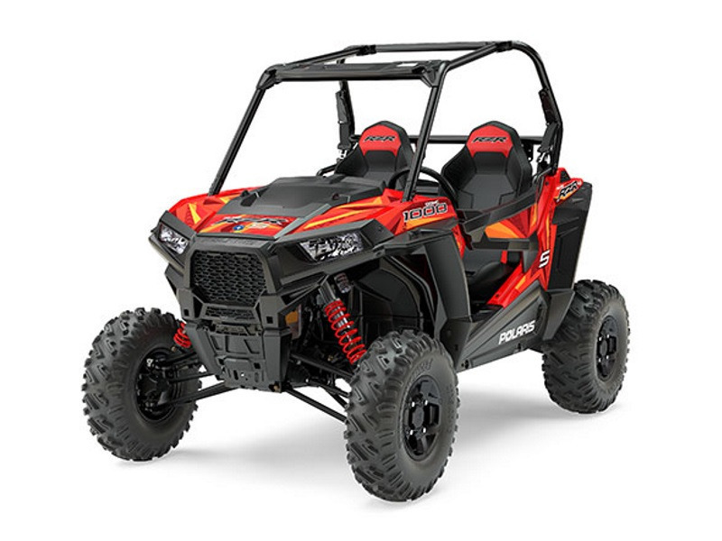 2017 Polaris RZR S 1000 EPS Indy Red
