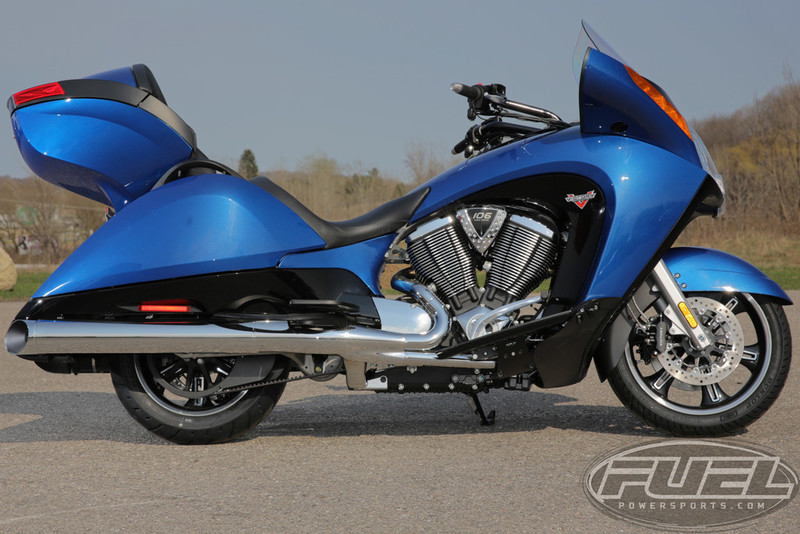 2016 Victory Motorcycles Vision Blue Fire