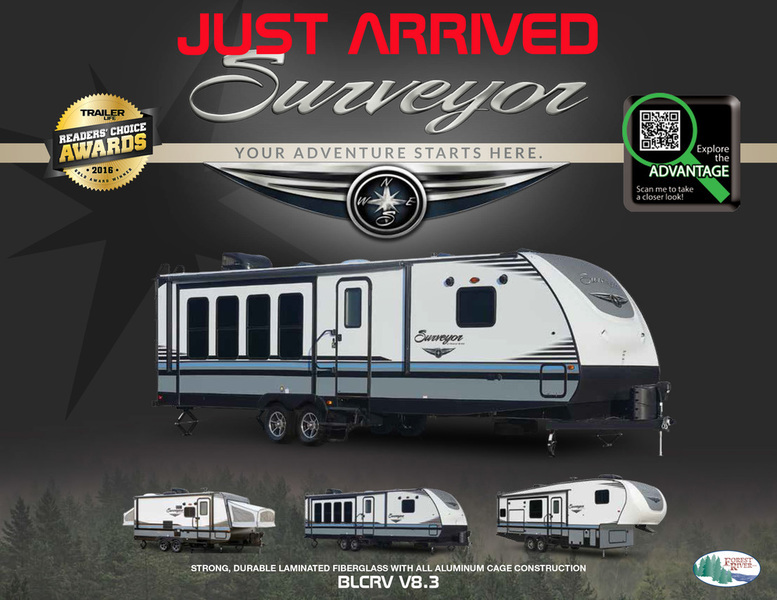 2018 Forest River SURVEYOR 267RBSS