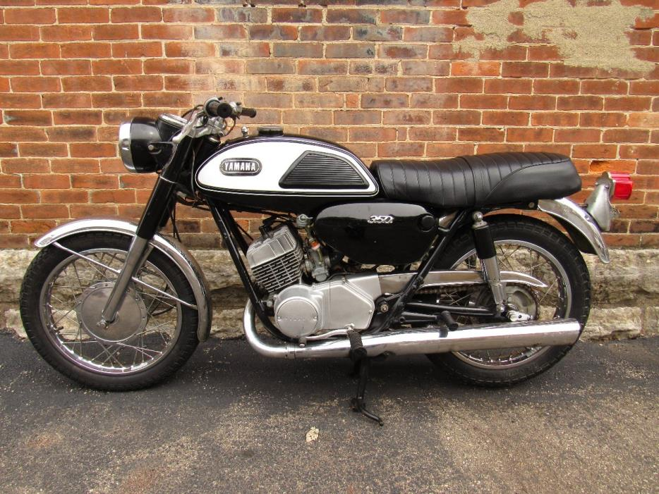 1968 yamaha 350 motorcycles for sale for Yamaha 350cc motorcycles