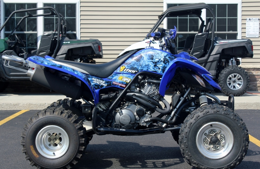 90cc yamaha quads motorcycles for sale for Yamaha raptor 50cc