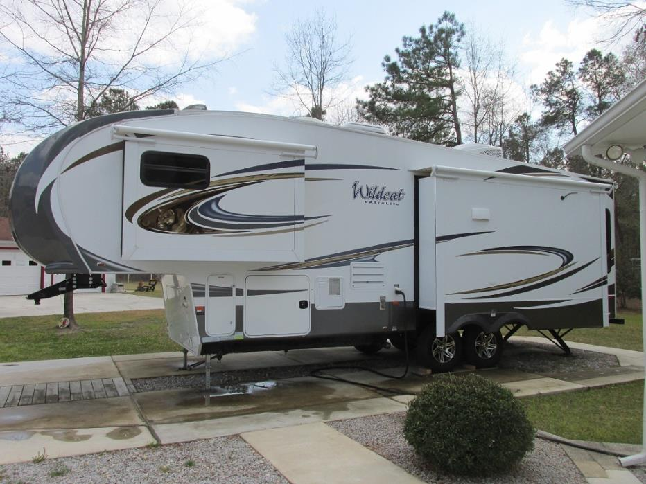 2015 Forest River WILDCAT 295RSX