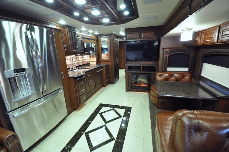 2013 Entegra Coach Cornerstone 45 RBQ, 4