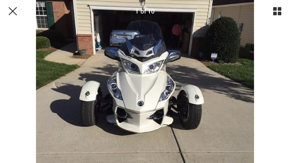 2012 Can-Am SPYDER RT LIMITED SE6