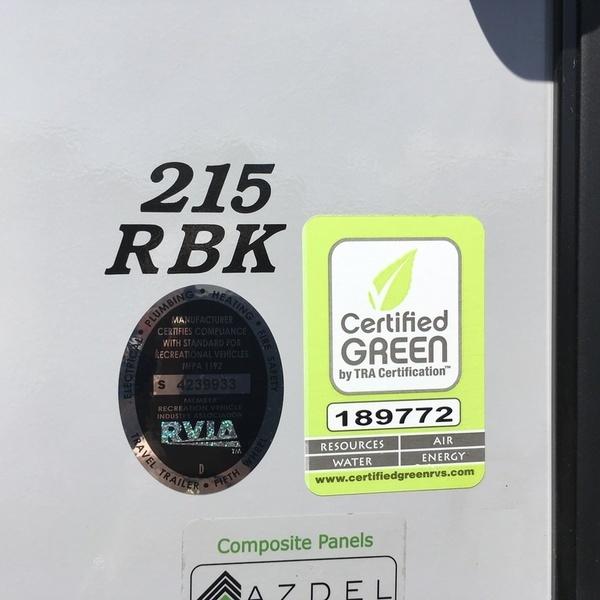 2017 Coachmen Apex Nano 215RBK