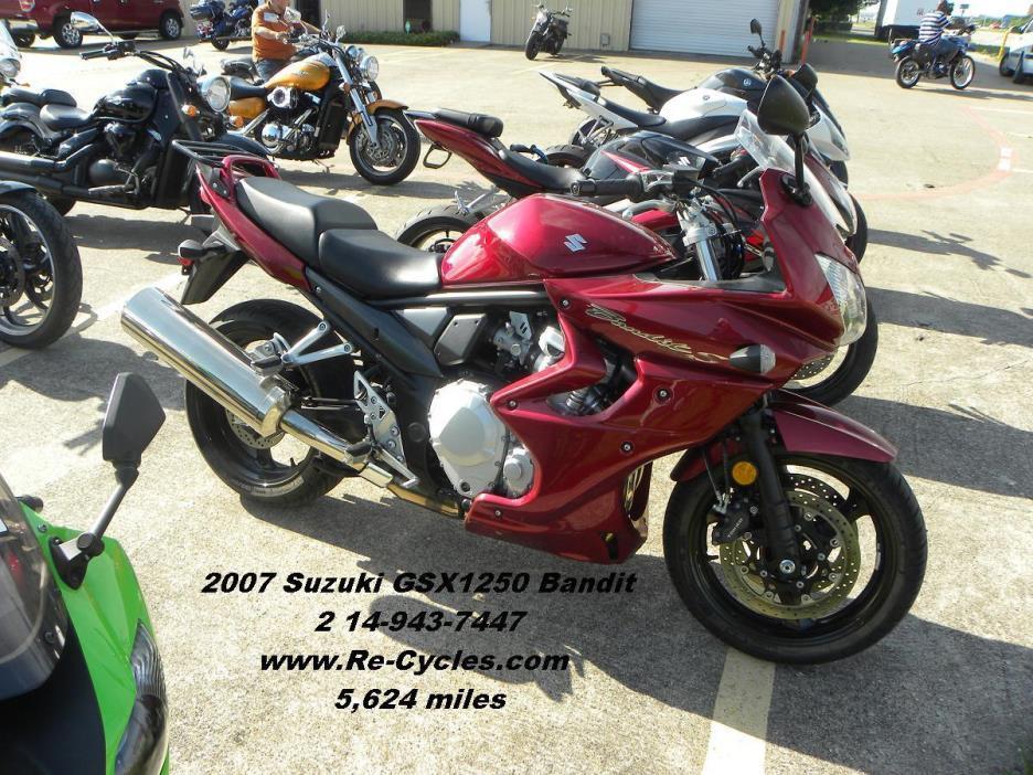 2007 Suzuki GSX 1250FA Bandit