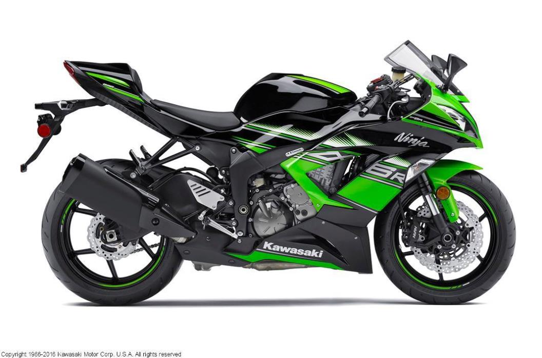 2016 Kawasaki Ninja ZX-6R ABS KRT Edition