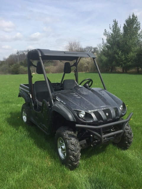 yamaha rhino 700 fi auto 4x4 special edition motorcycles for sale. Black Bedroom Furniture Sets. Home Design Ideas