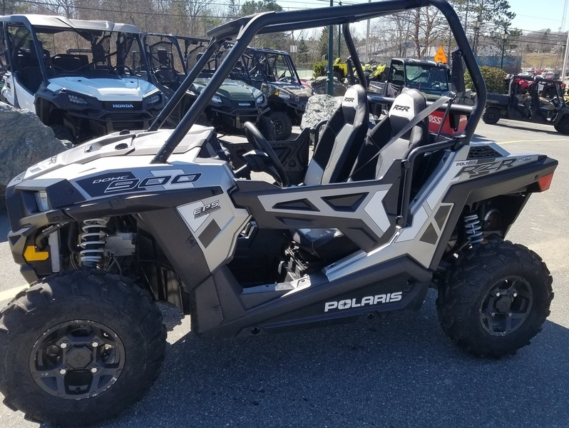 2016 Polaris RZR 900 EPS Trail Matte Turbo Silver