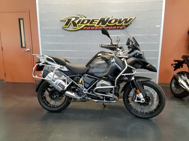 2017 BMW R 1200 GS Premium Black Storm Metallic