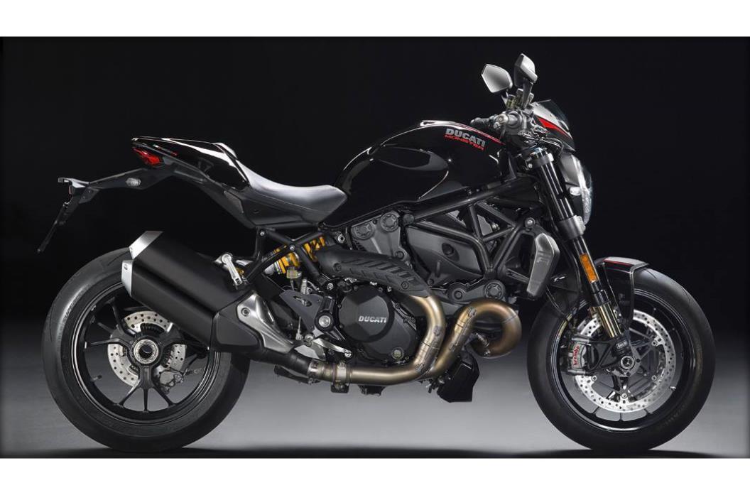 2017 Ducati MONSTER 1200R - THRILLING BLACK