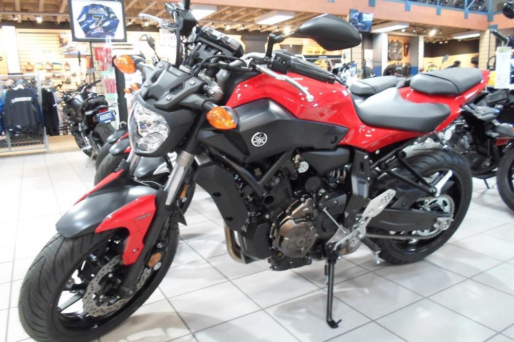 2017 Yamaha FZ-07 ABS