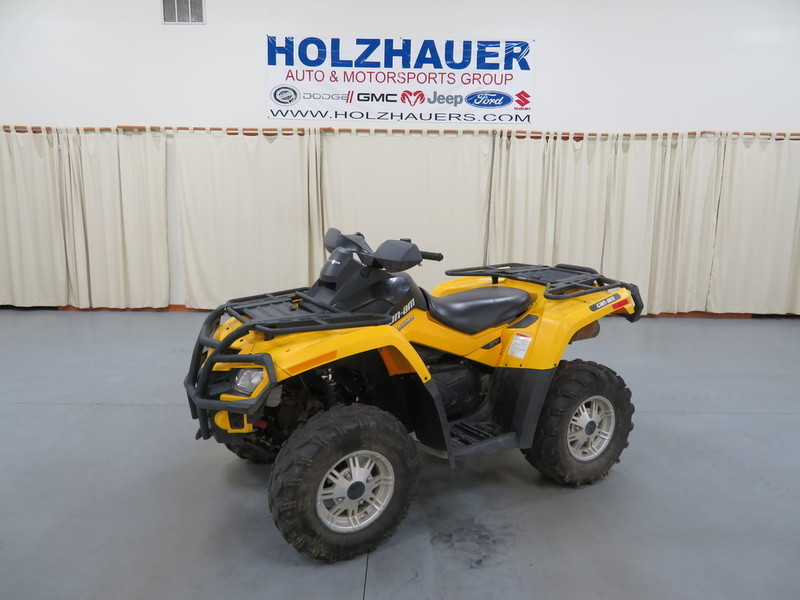 2011 Can-Am Outlander XT 500
