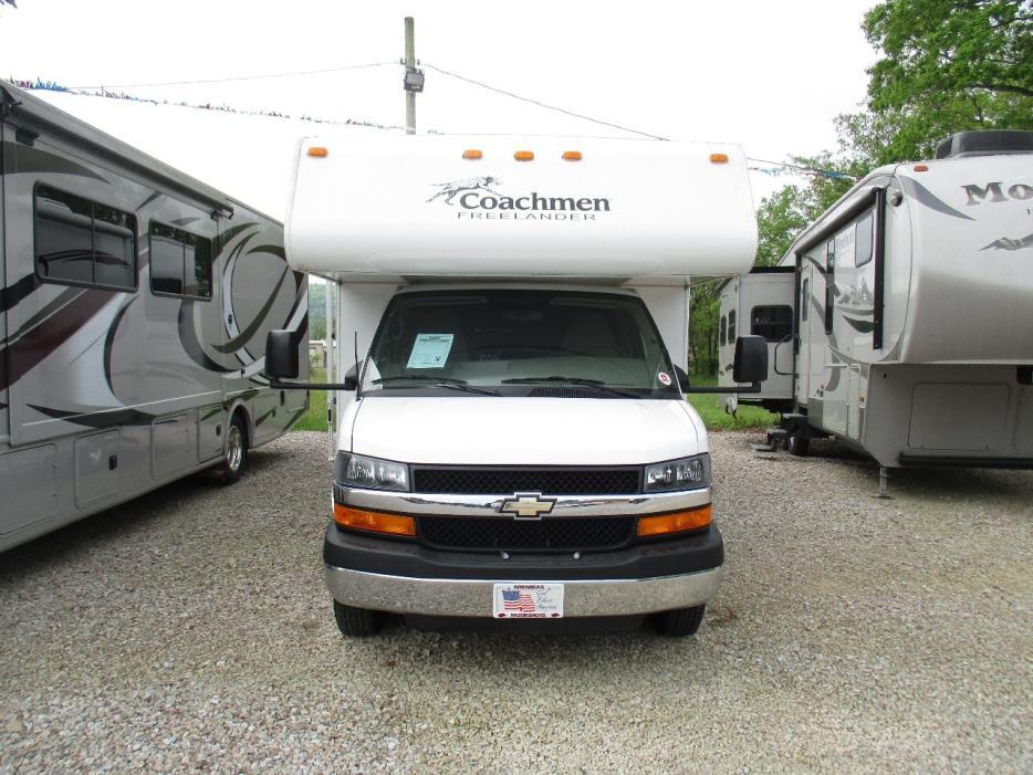 2015 Coachmen FREELANDER 28QB w/2014 Chevy Spark tow car package, 2