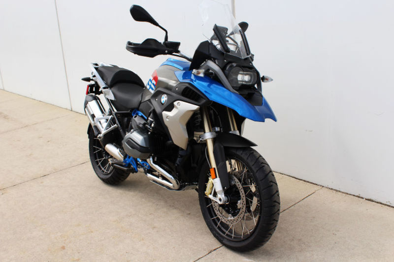 2017 BMW R 1200 GS Rally Standard Lupin Blue / Light Gey Metalli