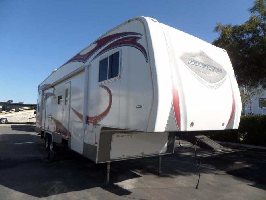 2012 Forest River Stealth RG3210