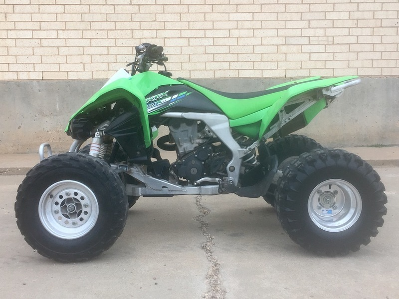 Kawasaki Kfx 450r motorcycles for sale in Texas