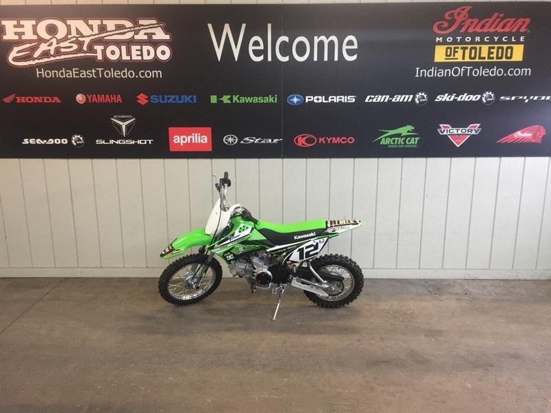 2017 Kawasaki KLX 110