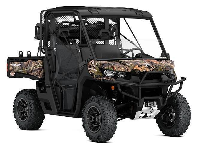 2017 Can-Am Defender Mossy Oak Hunting Edition HD 10