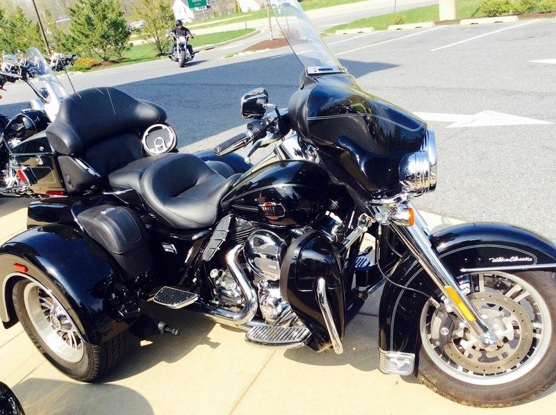 harley davidson tri glide ultra motorcycles for sale in laurel maryland. Black Bedroom Furniture Sets. Home Design Ideas