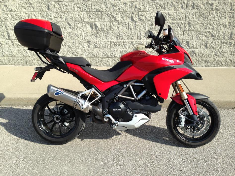 2010 Ducati Multistrada 1200 with ABS