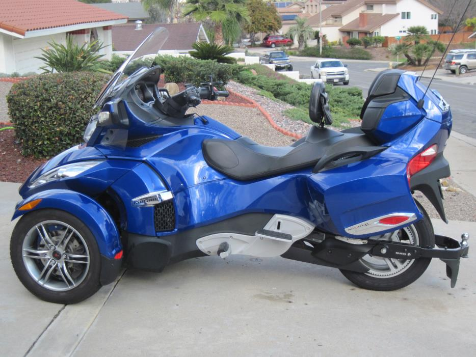 can am spyder rt se5 motorcycles for sale. Black Bedroom Furniture Sets. Home Design Ideas