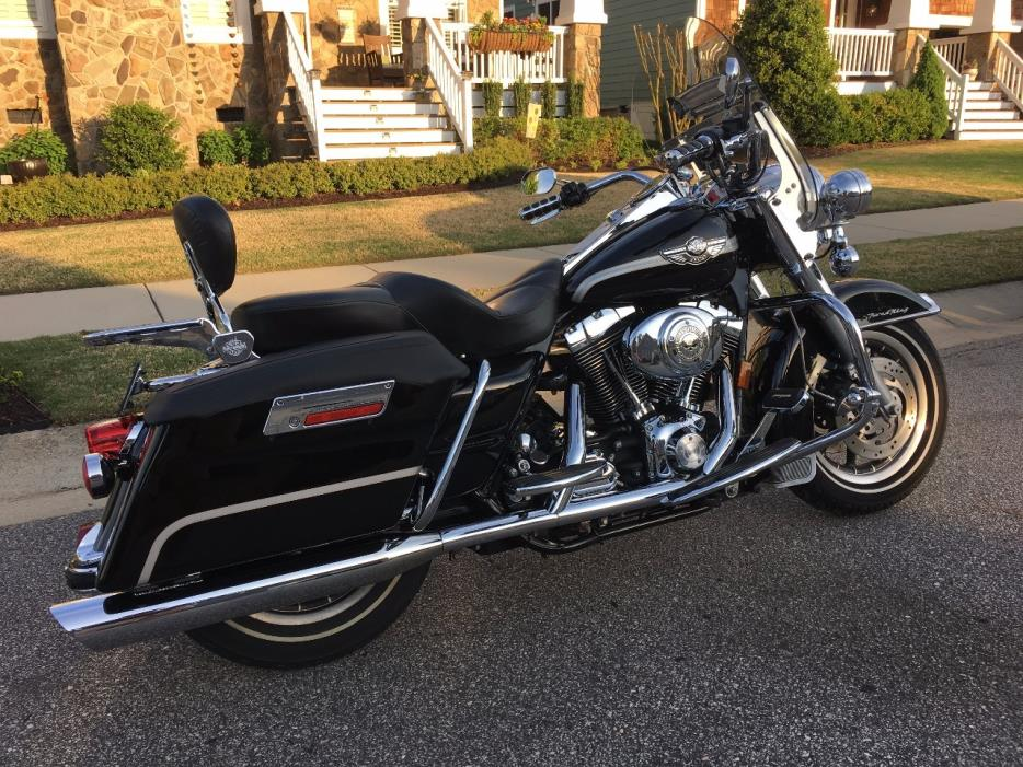harley davidson road king anniversary edition motorcycles for sale in north carolina. Black Bedroom Furniture Sets. Home Design Ideas