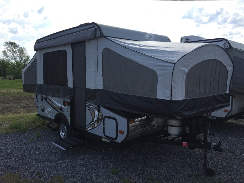 2014 Coachmen Clipper Camping Trailers 105ST