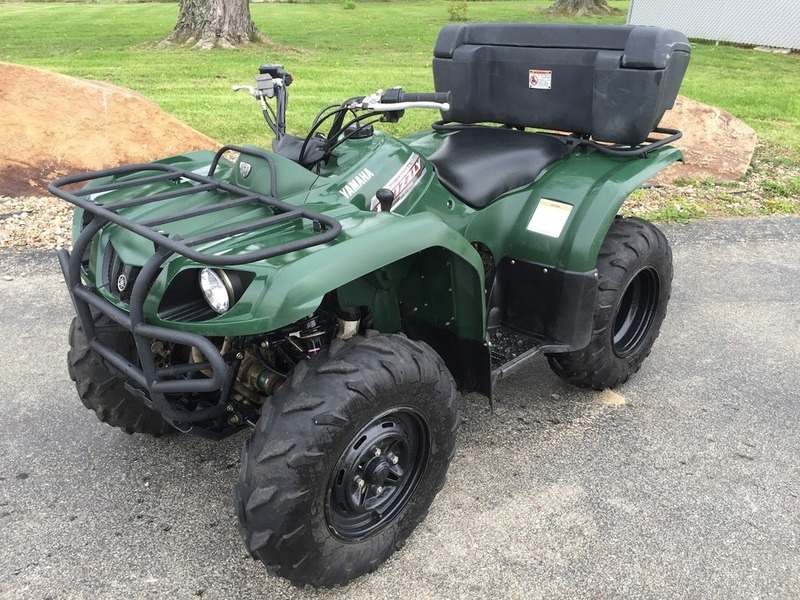 Yamaha grizzly motorcycles for sale in pennsylvania for Yamaha 350 4x4