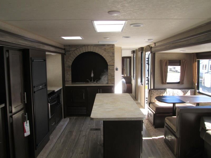 2017 Forest River Cherokee 304R Rear Lounge Island Kitchen Double Slide, 1