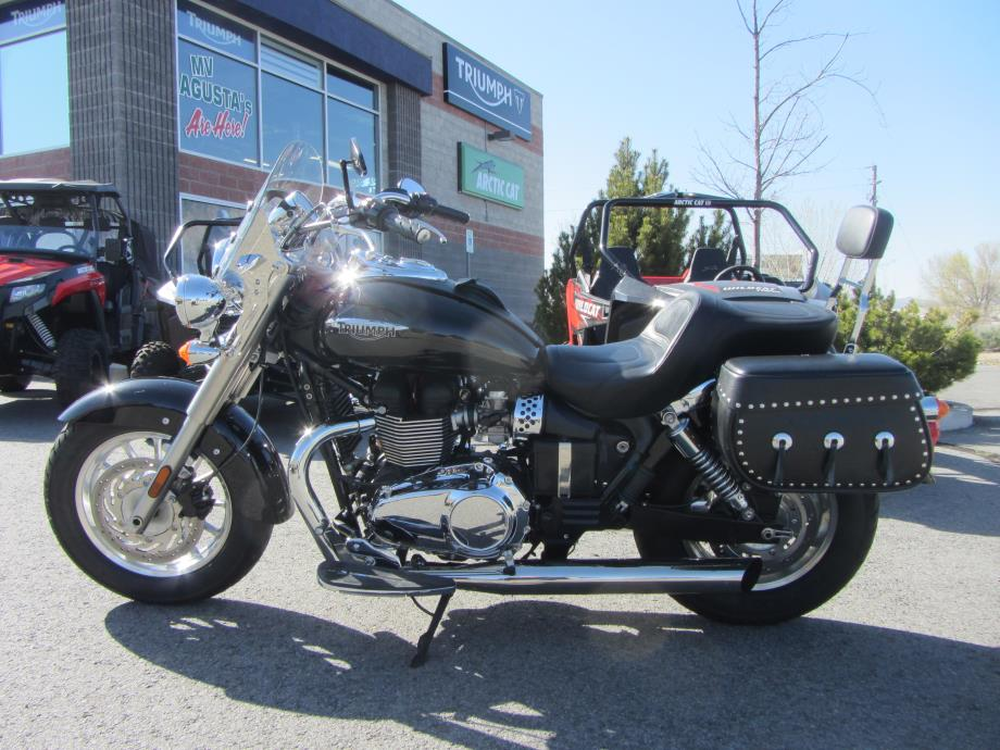 2013 Triumph America - Phantom Black