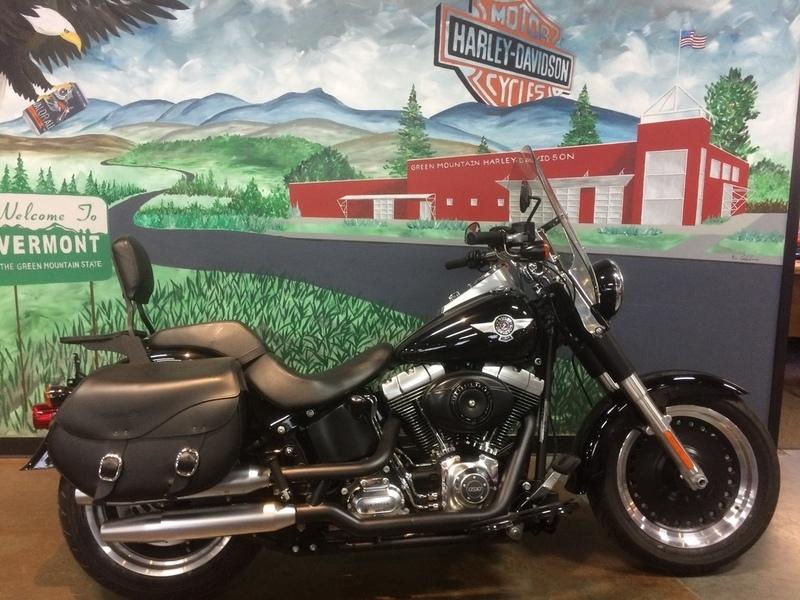 2013 Harley-Davidson FLSTFB - Softail Fat Boy Lo