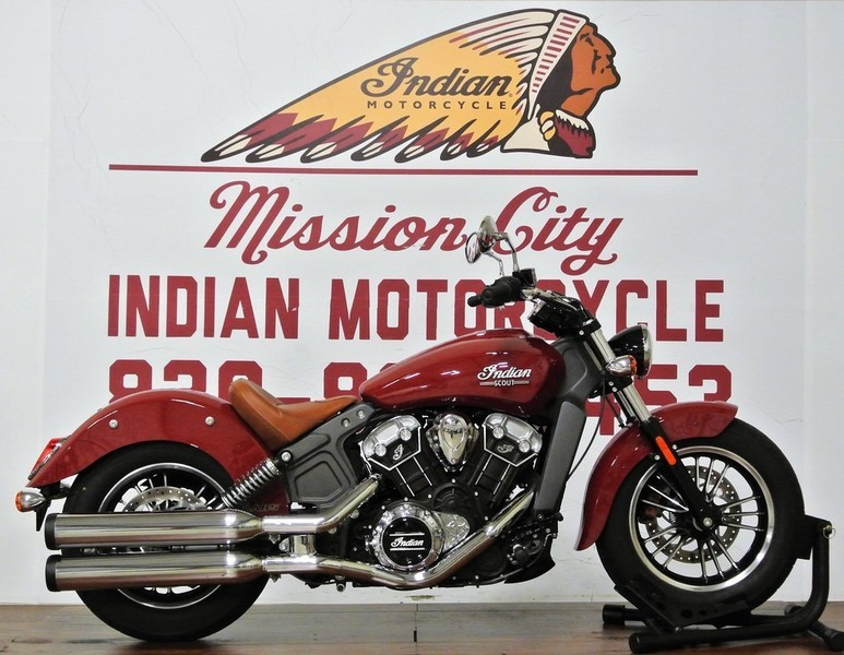 2016 Indian Motorcycle Scout ABS Indian Red