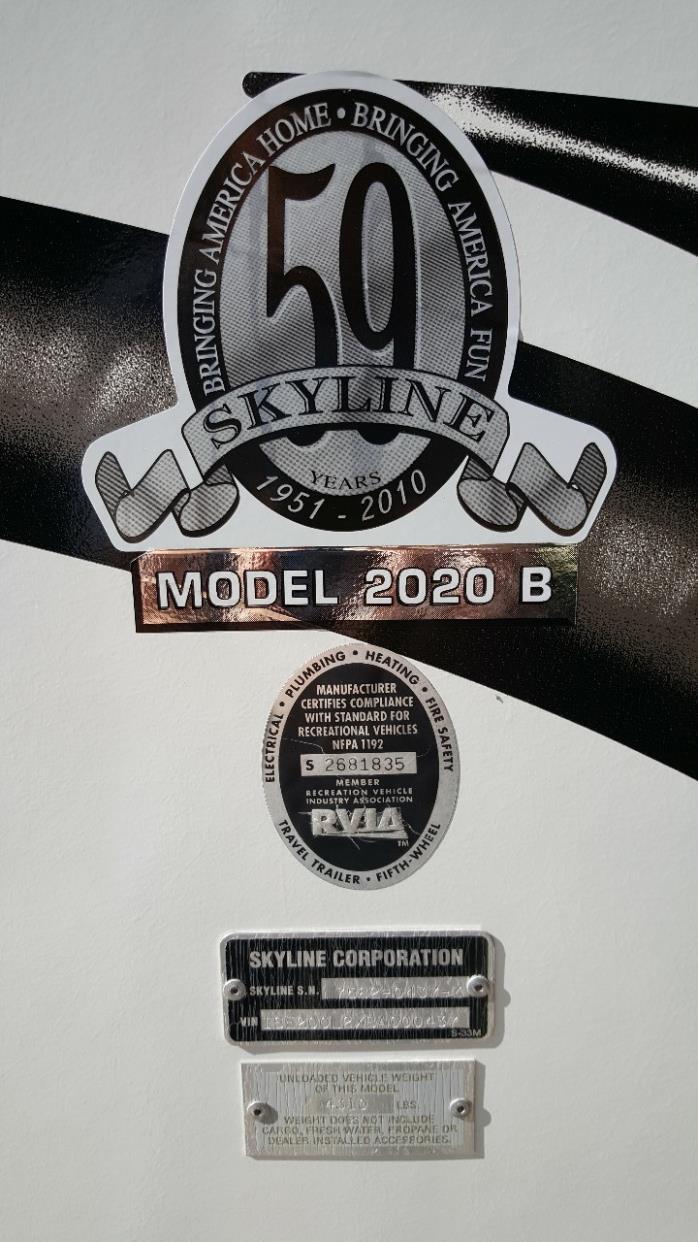 2011 Skyline LAYTON 2020B, 9