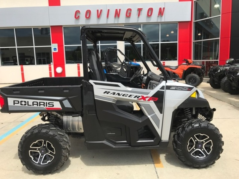 2015 Polaris Ranger XP 900 EPS Vogue Silver Deluxe