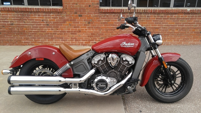 2015 Indian Motorcycle Scout Indian Red