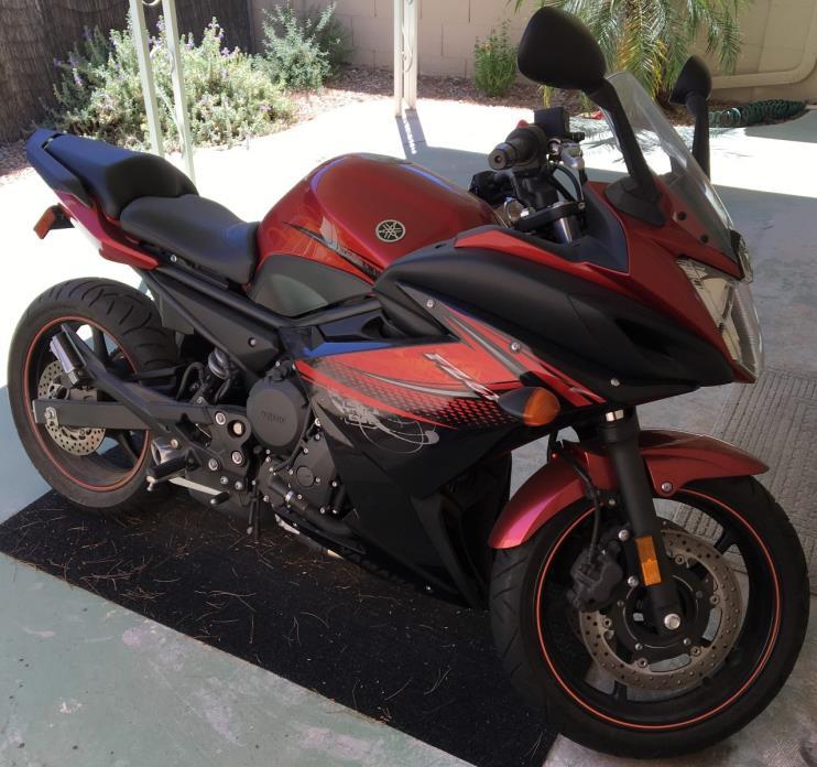 2011 Yamaha FZ6 R