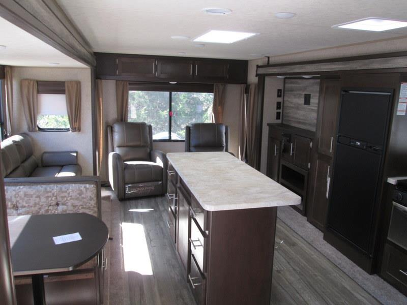 2017 Forest River Cherokee 304R Rear Lounge Island Kitchen Double Slide, 2