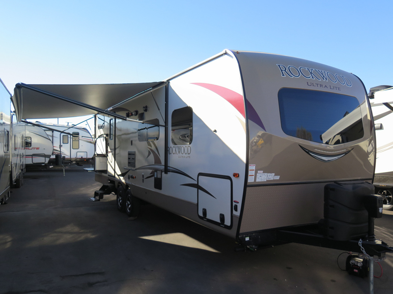 2018 Forest River Rockwood Ultra Lite Travel Trailers 2706WS